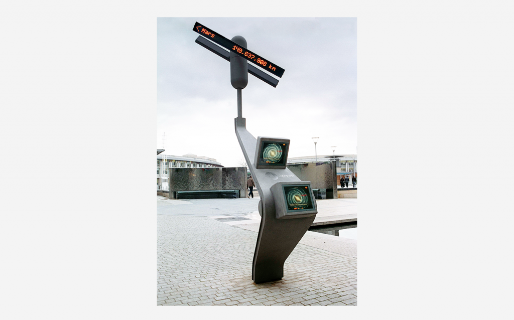 SPACE SIGNPOST